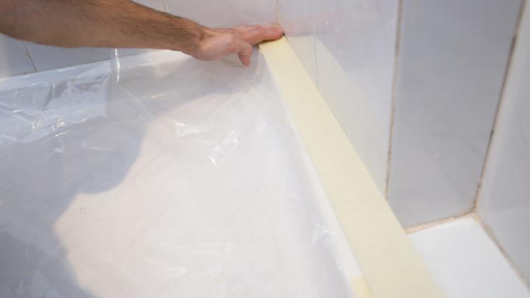 C mo pintar los azulejos del ba o handfie diy - Como pintar los azulejos del bano ...