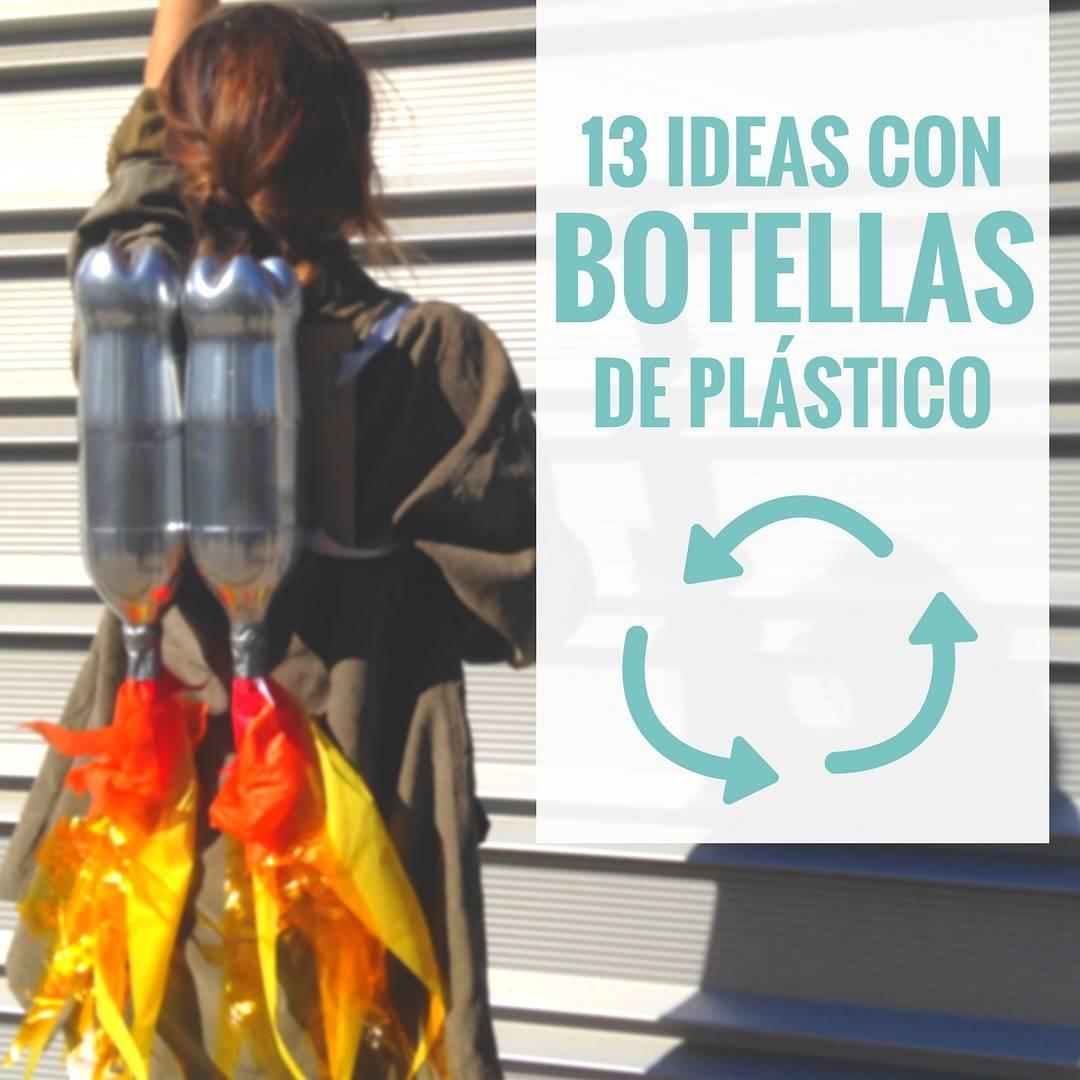 Manualidades Sencillas Con Botellas De Plastico Handfie Diy