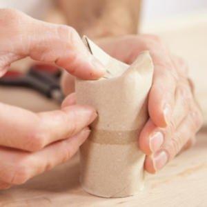 Manualidades con rollos de papel higiénico para niños