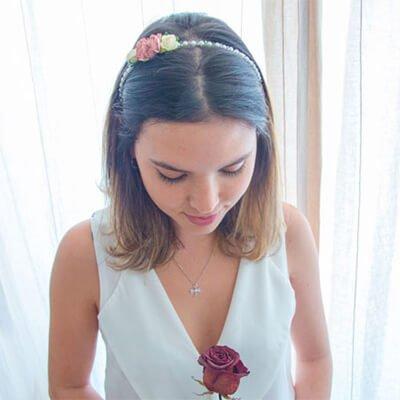 Diadema para bodas
