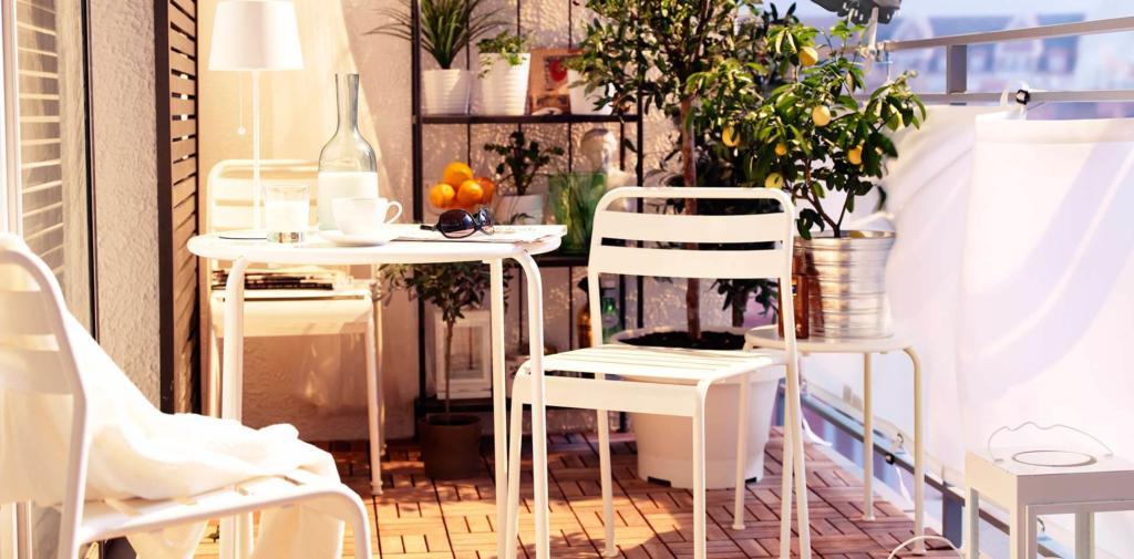 Ideas para decorar terrazas y balcones sencillo y pequeño con malla de ocultacion