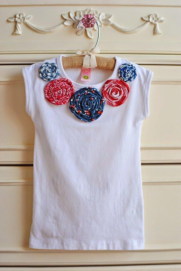 Como Decorar Una Camiseta De Navidad.Customizar Ropa 13 Ideas Para Una Camiseta Diy De Verano