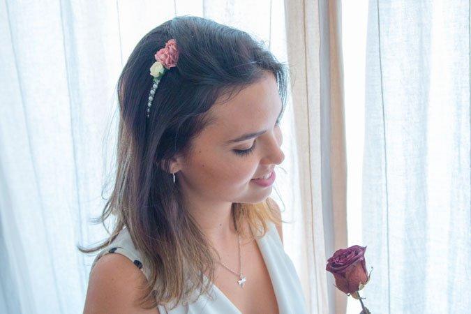 diadema bodas handfie