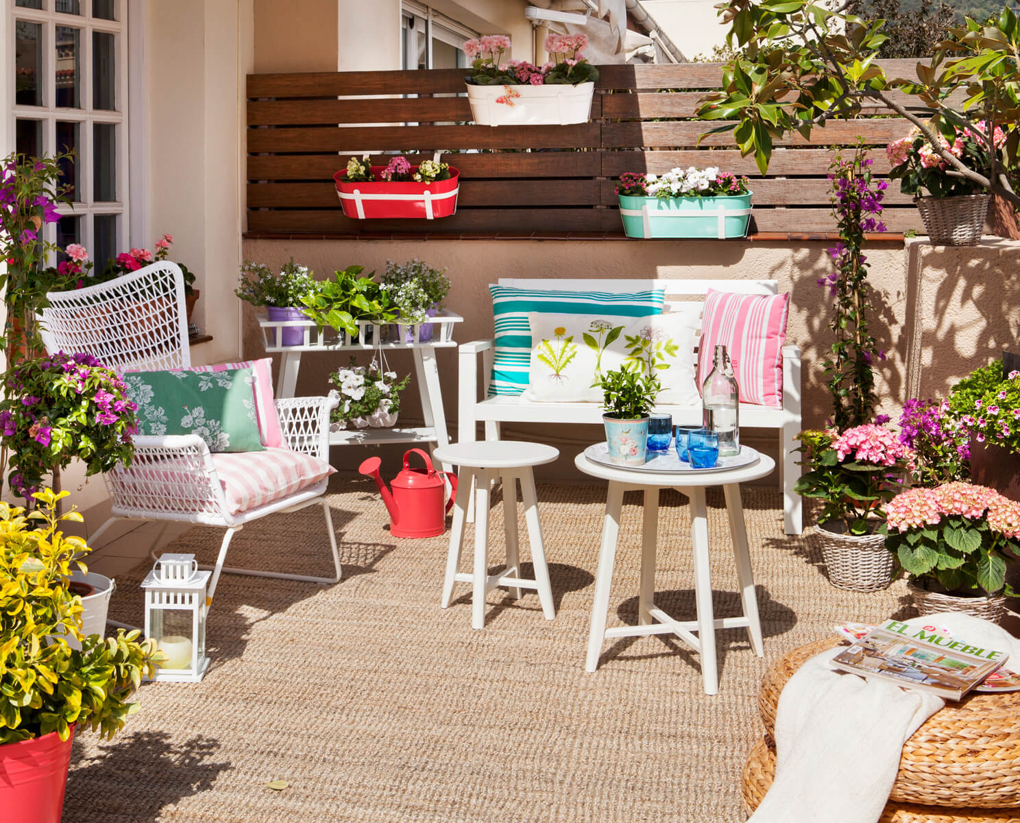 10 Ideas Para Decorar Terrazas Y Balcones Handfie Diy