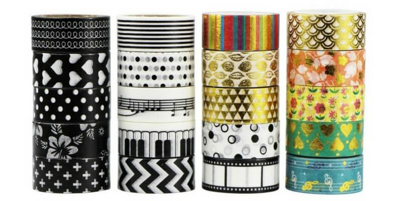 20 washi tape originales