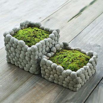 Manualidades f ciles con piedras decoraci n natural y elegante handfie diy - Decoracion con piedra ...