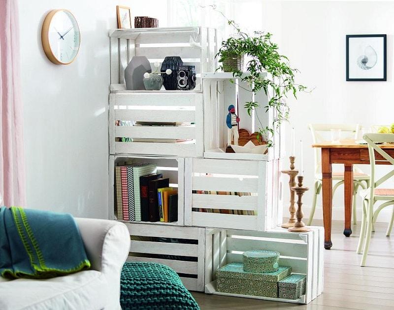 16 Ideas De Decoracion Con Cajas De Madera Handfie Diy