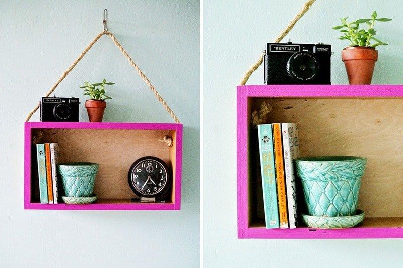 16 ideas de decoraci n con cajas de madera handfie diy - Ideas para decorar cajas de madera ...
