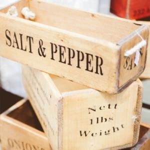Ideas de decoración con cajas de madera