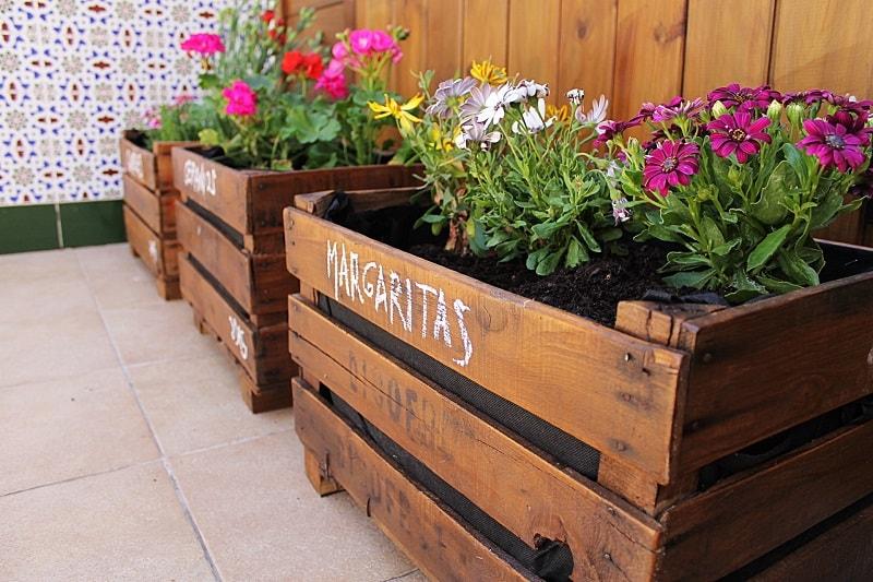 16 ideas de decoracin con cajas de madera Handfie DIY