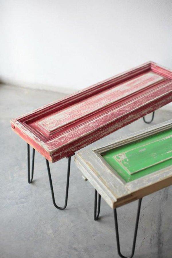 16 ideas para reciclar muebles y darles un nuevo uso for Muebles antiguos reciclados