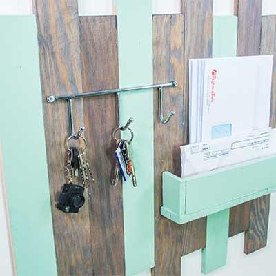 Handfie tutoriales y tendencias de bricolaje decoraci n - Mueble entrada casa ...