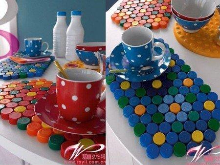 7 ideas para reciclar tapones de pl stico con estilo - Como hacer tapas faciles ...