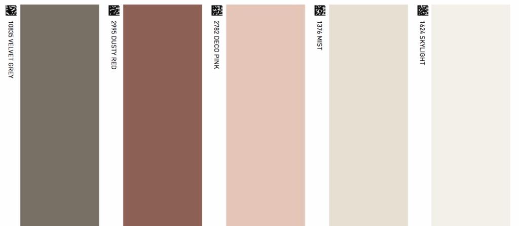 Colores línea Majestic de Jotun para interiores