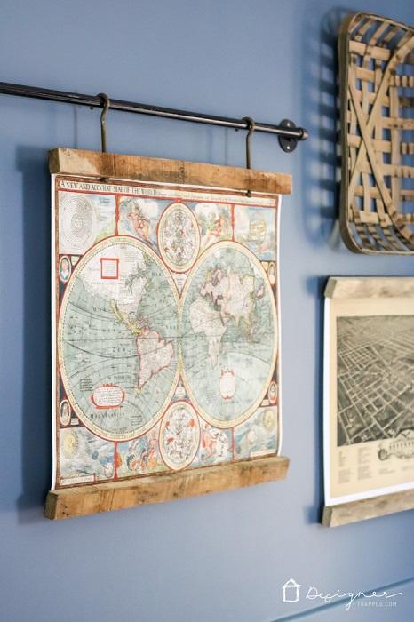 12 Ideas Diy Para Decorar Con Mapas Handfie Diy