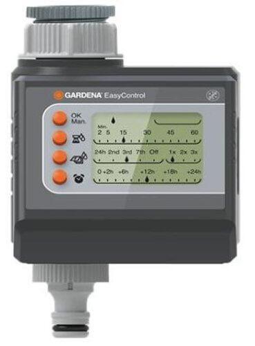 Programador de riego por goteo de Gardena