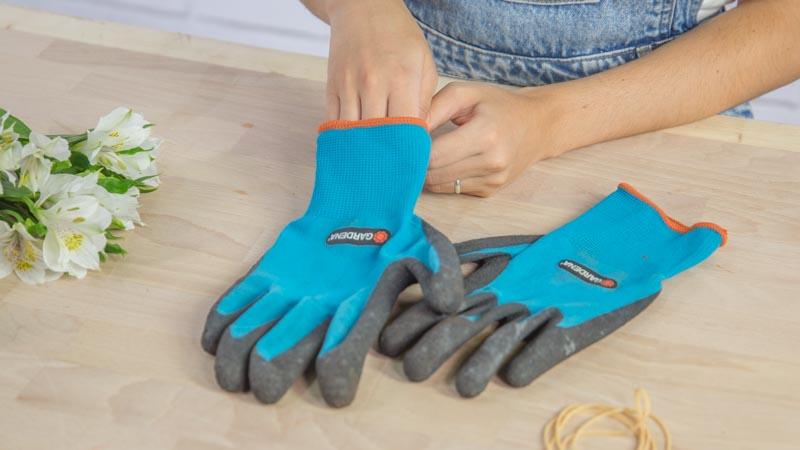 guantes de Gardena
