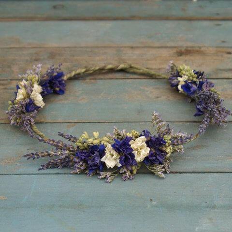 15 ideas diy para hacer con flores secas handfie diy - Flores secas decoracion ...