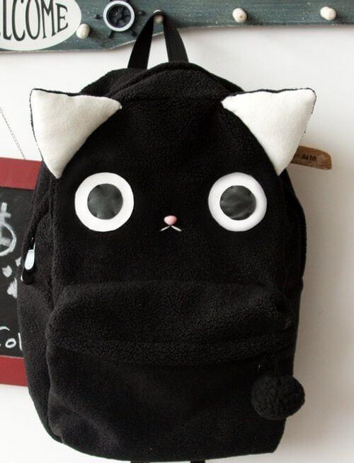 ideas-mochilas-customizadas-gatito-con-orejas
