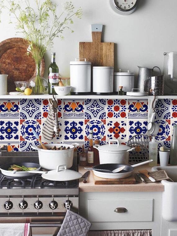 Vinilo adhesivo para azulejos de la cocina