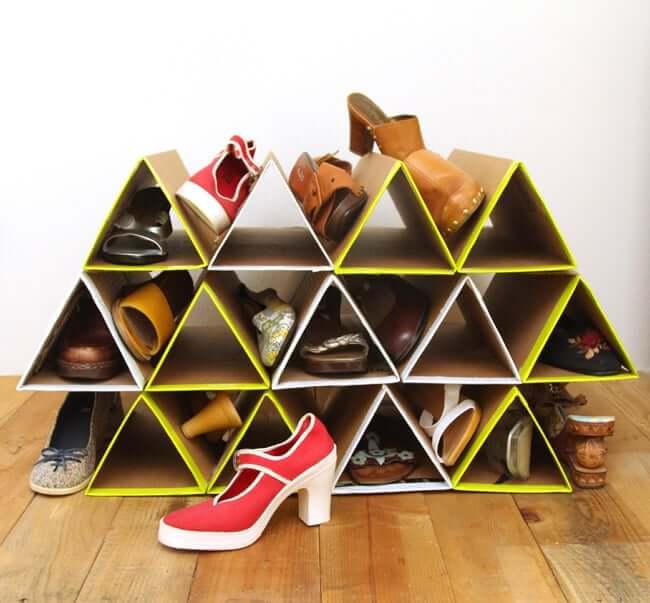 Zapateros DIY: 13 ideas para crear tu propio zapatero