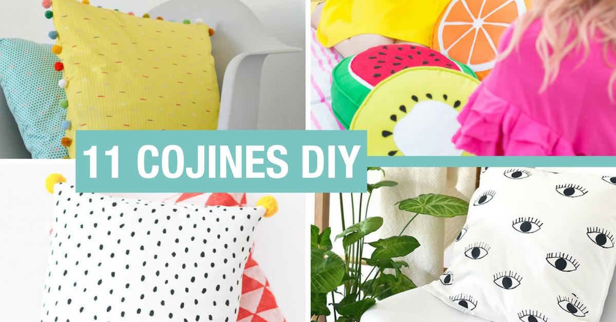 Diy Cojines.11 Cojines Diy Para Darle Una Alegria A Tu Sofa Handfie Diy