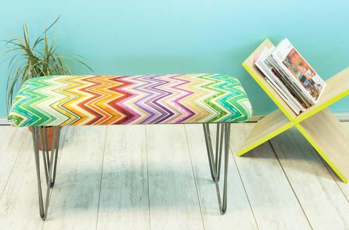 Ideas de decoraci n bancos que puedes hacer para casa handfie diy - Banco tapizado ...