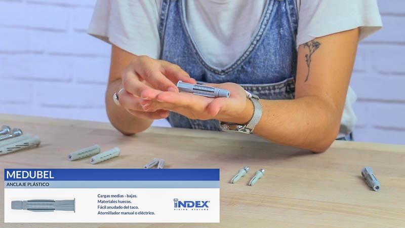 Anclaje plástico MEDUBEL de index