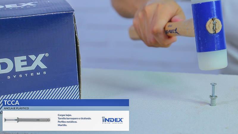 Anclaje plástico TCCA de Index