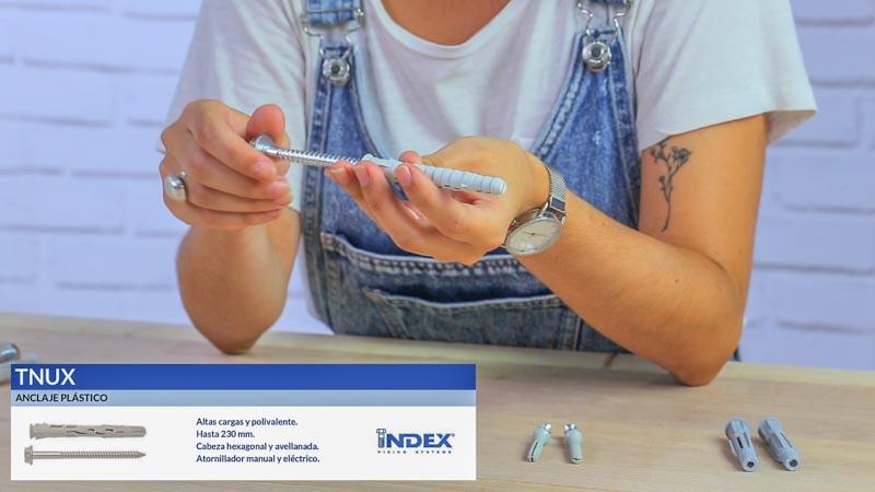 Anclaje plástico TNUX de Index