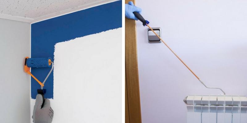 Pintar las paredes 5 consejos aspectos a tener en cuenta - Utensilios para pintar paredes ...