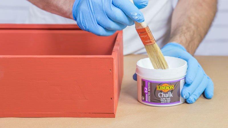 Aplicación del efecto chalk