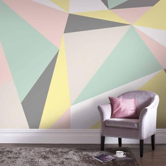 Formas De Pintar Paredes.Pintar Y Decorar Las Paredes 8 Ideas Para Dar Color A Tu Cuarto