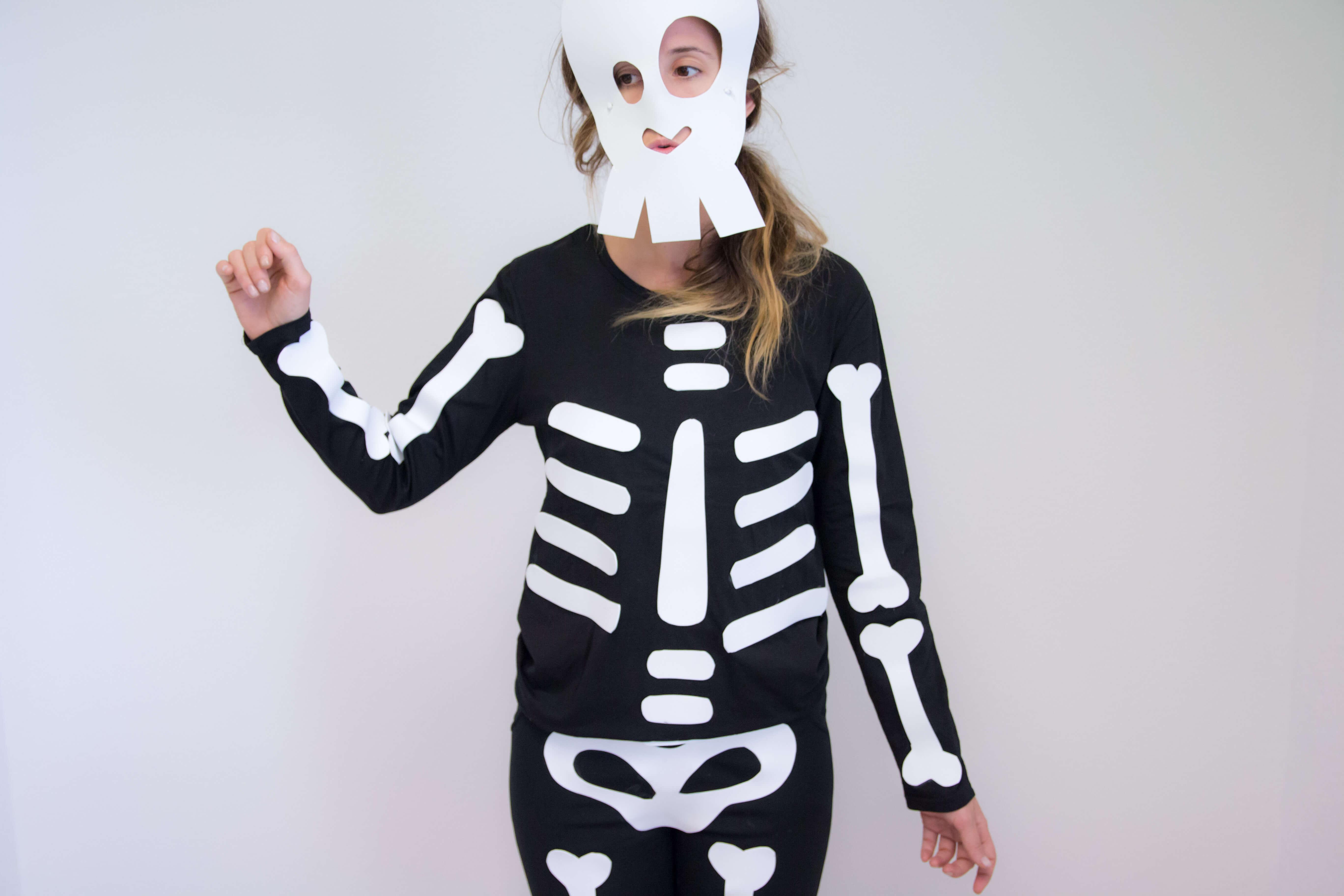 ideas-disfraz-esqueleto-sencillo