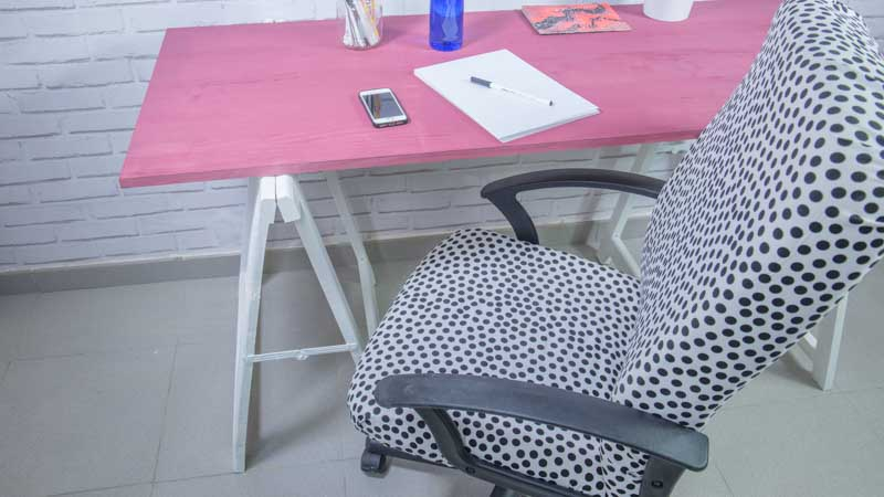 C mo tapizar una silla de estudio tutorial handfie diy - Como tapizar una silla con respaldo ...