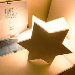 Estrella luminosa decorativa