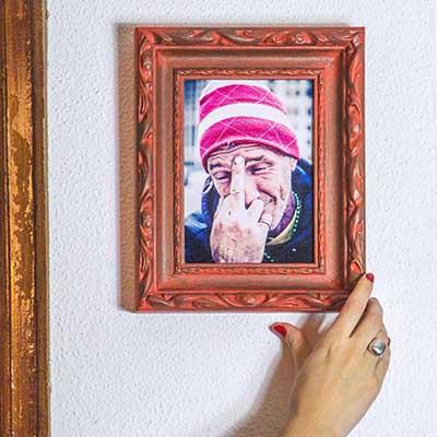 Handfie tutoriales y tendencias de bricolaje decoraci n - Marcos decorados ...