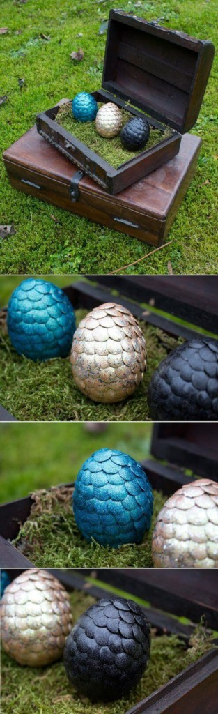 Huevos dragones de Juego de Tronos DIY