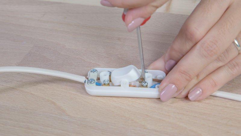 Instalando un interruptor