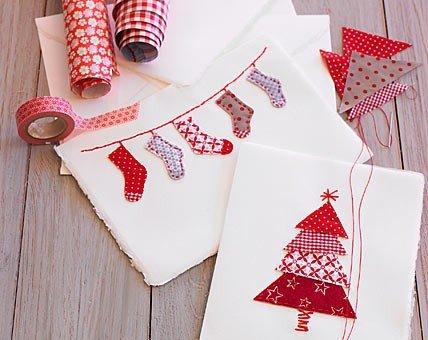 tarjetas-navidenas-hechas-con-retales-de-tela
