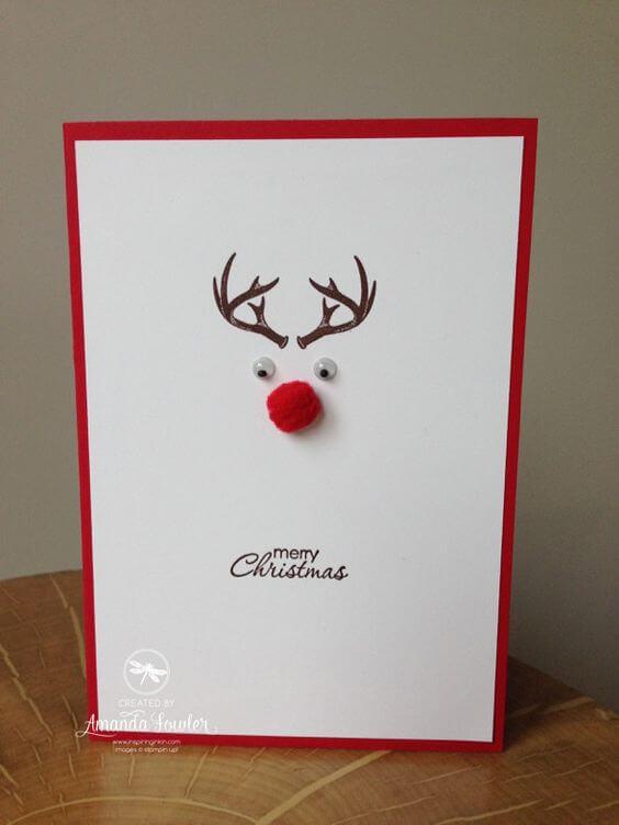 tarjetas-navidenas-reno-con-pompon-y-ojos-de-plastico