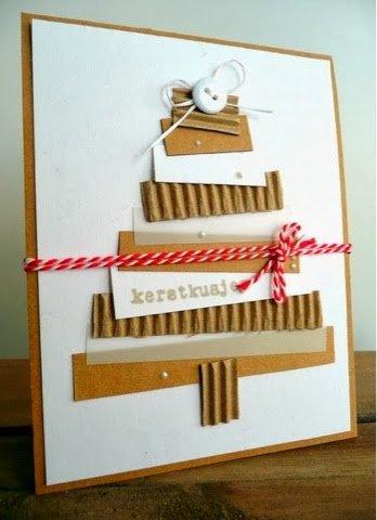 tarjetas-navidenas-trozos-de-carton