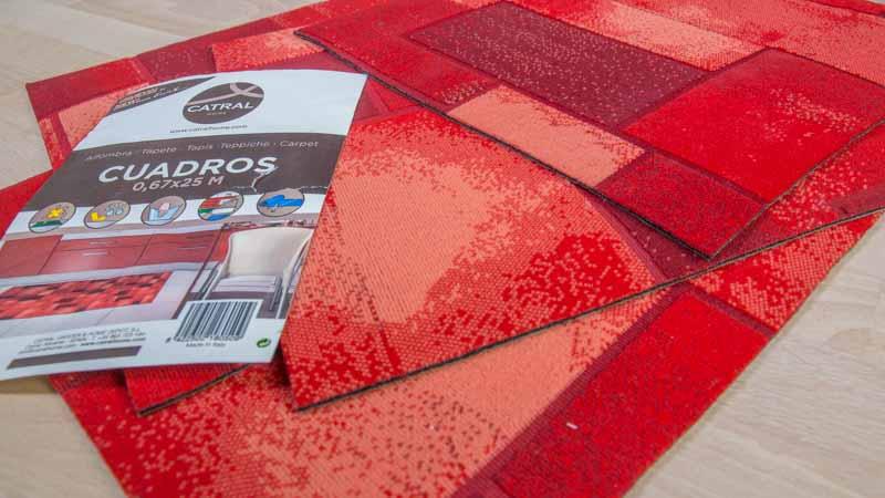 Trozos de alfombra