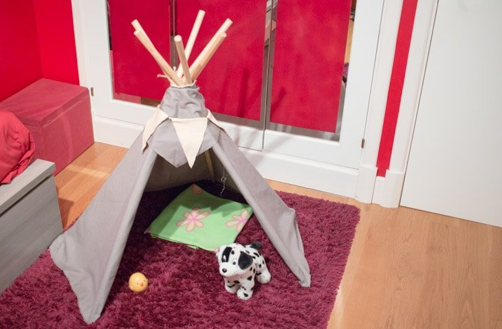 Tipi indio DIY