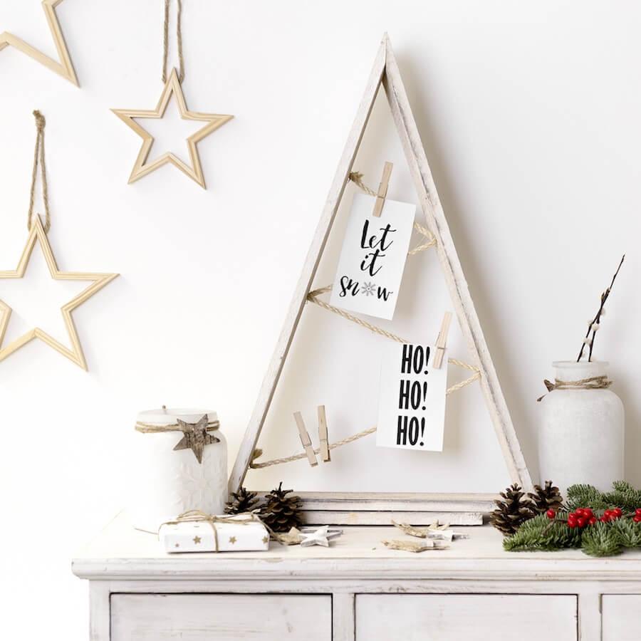 Decora con un rbol de navidad 14 ideas de rboles de - Arbol de navidad hecho de luces ...