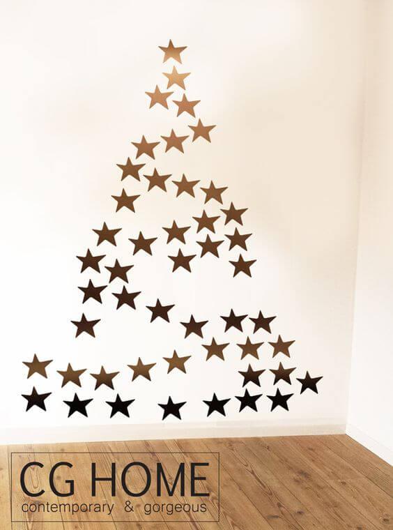arboles-de-navidad-originales-pegatinas-de-estrellas