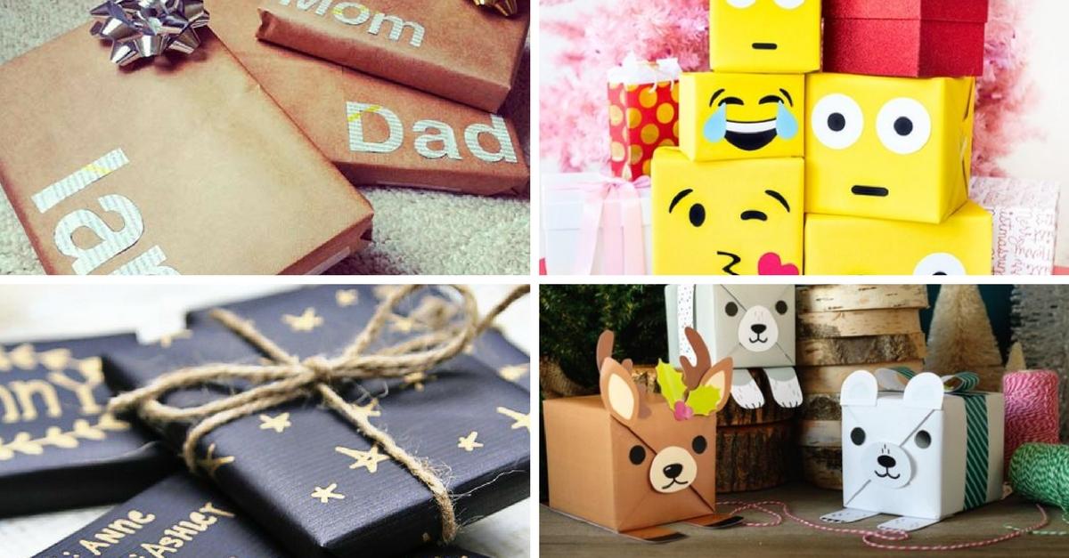 12 ideas originales para envolver regalos esta navidad hanfie diy - Ideas de decoracion originales ...
