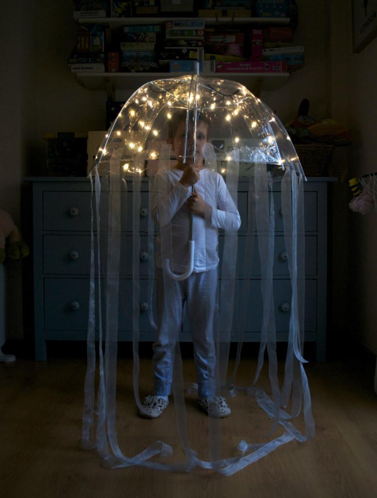 Disfraz de medusa