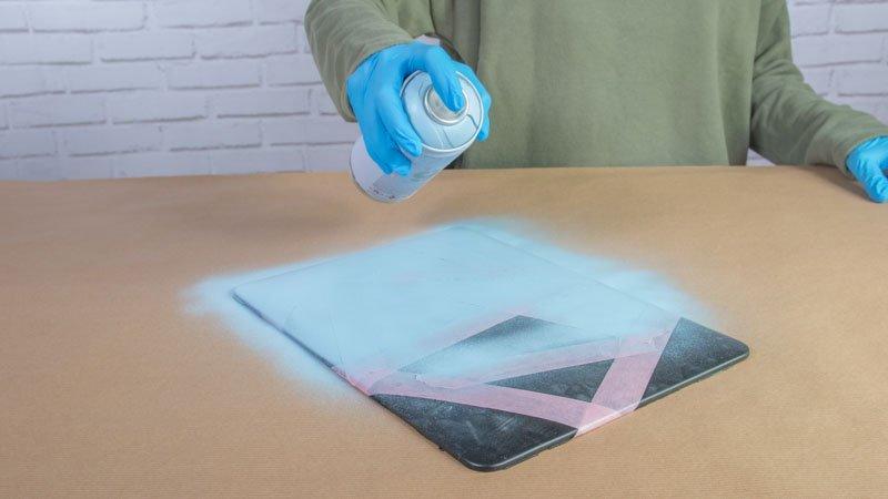 Aplicación de pintura en spray