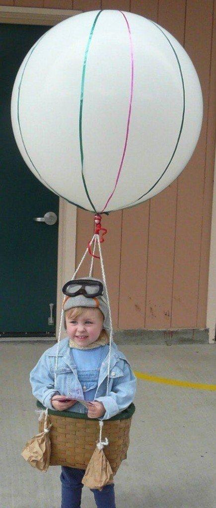 Disfraz de globo aerostático
